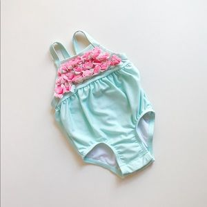 Cat & Jack | Baby Girl Mint Swimsuit